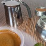 Espressozubereitung mit Espressokocher