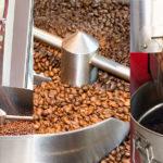 Kaffee roesten mit Trommelroester