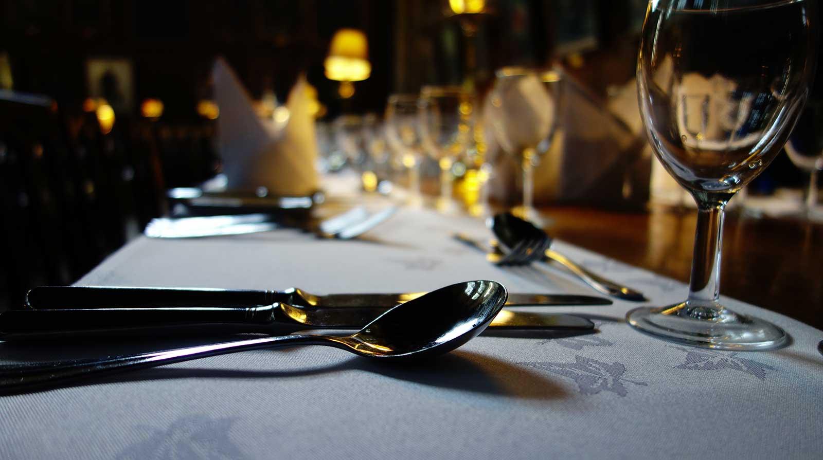 Esstisch Enricos Restaurant