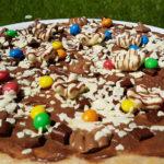 Schokoladenpizza Nutella Pizza