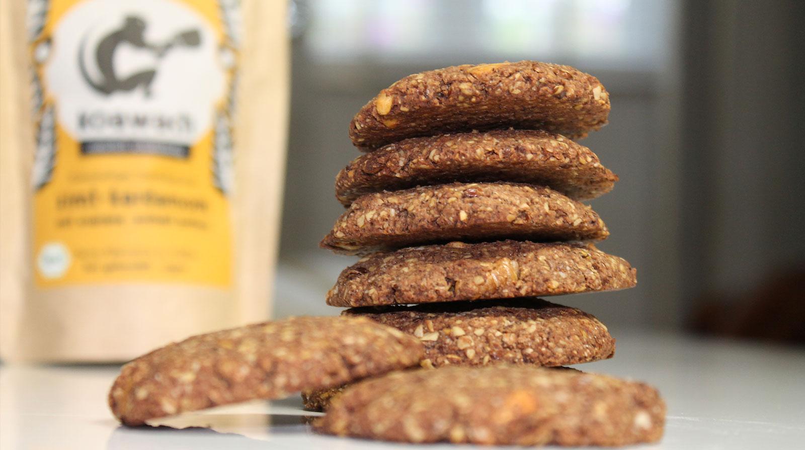 Gesunde Schokoladen Cookies