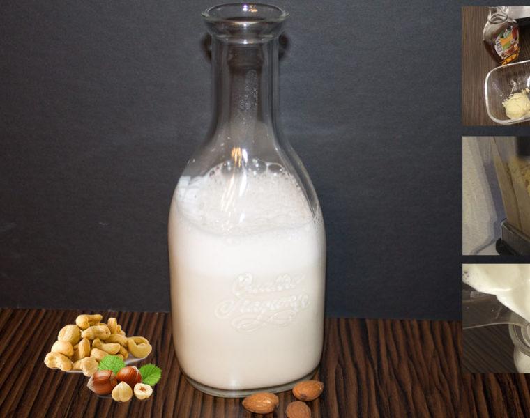 Milch selber machen - Mandelmilch, Cashewmilch und Haselnussmilch